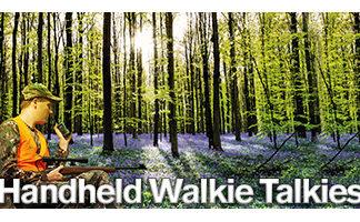 Handheld Walkie Talkies