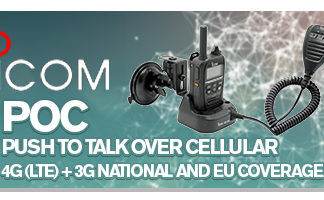 Icom Push To Talk Over Cellular 3G/4G