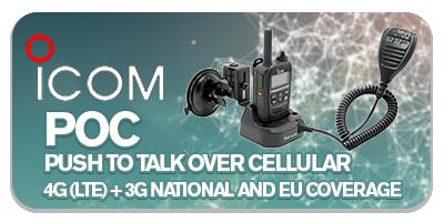 Icom Push To Talk Over Cellular 3G/4G