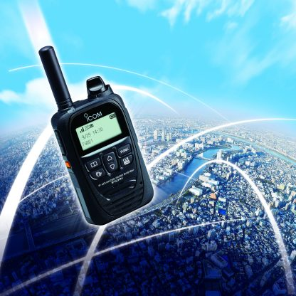 Icom IP-501H 'POC' Push to Talk Over Cellular Two Radio System 3G + 4G