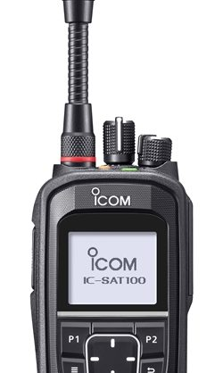 Icom IC-SAT100 Iridium Satellite PTT Transceiver